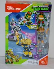 Mega Construx Teenage Mutant Ninja Turtles 81 Pcs Raph Dimension X Battle 5