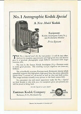 Vintage 1922 Eastman Kodak Special Camera Original Magazine Print Ad