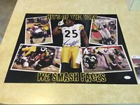 Pittsburgh Steelers Autographed Signed Ryan Clark 16x20 Photo JSA
