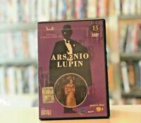 ARSENIO LUPIN VOLUME 13 Georges Descrières CAPITOLI 25 - 26 DVD COME NUOVO