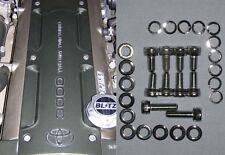 Toyota Supra MkIV - TT Coil Pack Cover Bolts Set/Kit - CHROME