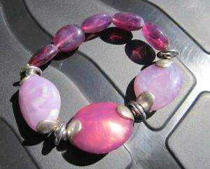 Lovely Purple 8 Stoned Bracelet costume Jewellery different shades