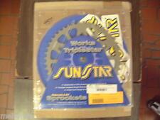 SUNSTAR 45 TOOTH REAR SPROCKET FOR 1991-09 KTM 125-560CC ALL MODELS, 5-354745