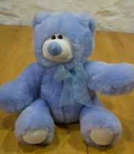 Animal Alley SOFT BLUE TEDDY BEAR Plush Stuffed Animal