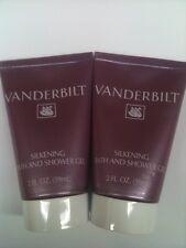 20 X Vanderbilt Silkening Bath and Shower Gel (2 OZ// 59 ML EACH) NEW.