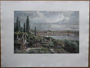 1878 print TRIESTE, ITALY(#46)