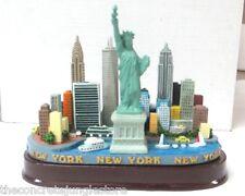 New York City Skyline Model Replica with Statue of Liberty, New York Souvenir