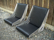 Bomber style seat FRAMES by Rotten Leonard's Jalopy Shop, Hot rod rat Bucket T