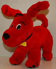 "11"" Clifford The Big Red Dog Plush Stuffed Action Figure Toy 2000 Toy Island"