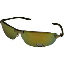 Sport Yellow Mirror UV400 Lens United Sunglasses Shades 5082