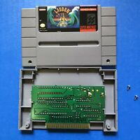 Lagoon Super Nintendo SNES Video Game Cartridge 100% AUTHENTIC TESTED AND WORKS