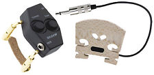Shadow SH 940 Violin Bridge Pickup with Volume and Tone, 12 Foot Cable