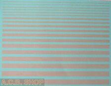 rayures gris clair bandes Pantone 435 C - 1:3 2 autocollant décalcomanie