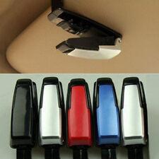 Brillenclip Brillenhalter für Sonnenblende Auto PKW verschiedene Farben_Schwarz