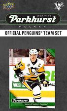Pittsburgh Penguins 2017 2018 Upper Deck PARKHURST Factory Team Set Crosby plus