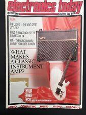 Electronics Today International (ETI) December 1986 - Hobby Monthly Magazine