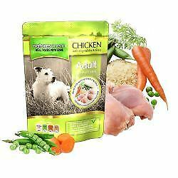 Natures Menu Chicken with Vegetables and Rice Dog Pouches - 300g - 551446