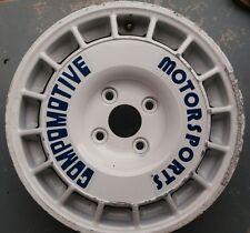 Compomotive Wheel logos . Genuine compomotive stickers not re prints.  TA etc