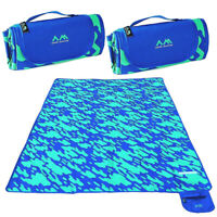 2pk Arctic Monsoon Folding Plastic Picnic Blanket Outdoor Waterproof Beach Mat