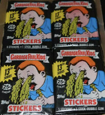 Garbage Pail Kids cards 13th series 13 Unopened wax pack OS13 YOU GET 4PACKS NEW