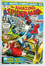 Amazing Spider-Man #125 Man-Wolf Origin KEY John Romita Sr. Cover NICE BIG PICS