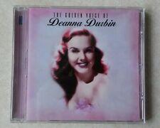 The Golden Voice of Deanna Durbin CD (2005, 20 Tracks)