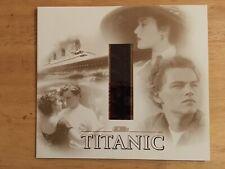 Titanic Souvenir Film Cell With Leonardo Dicaprio And Kate Winslet