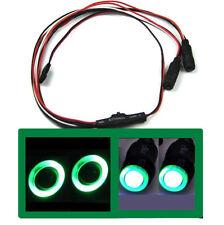 1/10 1/16 1/18 RC Car Angel Halo Eyes White & Green LED Headlight Light TOYZ 701