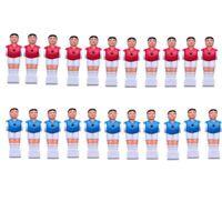 22 PCS Red & Blue Foosball Men Table Soccer player