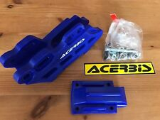 YAMAHA YZ 125  YZ 250   2005-2018  ACERBIS CHAIN GUIDE  BLOCK BLUE