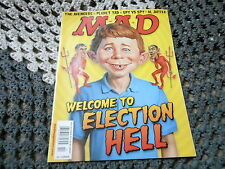 OCT 2012 MAD vintage magazine (UNREAD) - ELECTION HELL - OBAMA - ROMNEY