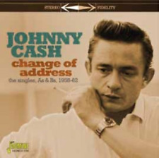 JOHNNY CASH-CHANGE OF ADDRESS -THE SINGLES AS &...-IMPORT CD WITH JAPAN OBI F04