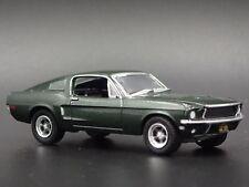 1968 FORD MUSTANG GT MCQUEEN BULLITT RARE 1/64  COLLECTIBLE DIECAST MODEL CAR