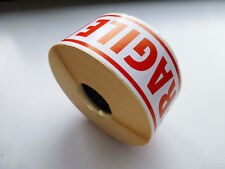 FRAGILE LABELS STICKERS  50 X 140