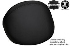 BLACK STITCH LEATHER DASH COWL HOOD COVER FITS MG MGF MG TF 1995-2005 STYLE 2