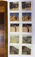 1960s 3D PHOTO STEREO VIEWER CARDS CEREAL SANITARIUM MYSTERIOUS ASIA!!!