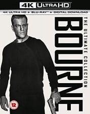 Bourne The Ultimate 5 Movie Collection 4k Ultra HD Region B Blu-ray