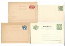 Sweden-8 good/early postal cards, etc all unused/different