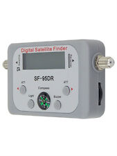 Digital Satellite Signal Finder With LCD Meter  Display Compass