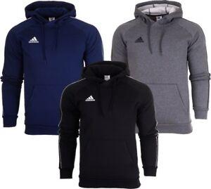 Adidas Core 18 Mens Jumper Hoodie Top Hoody Overhead Cotton Sweatshirt S M L 2XL