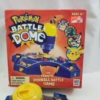 Pokemon Battle Dome Frantic Pinball Game Milton Bradley 2005 Hasbro Original Box