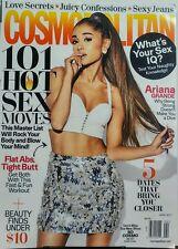 Cosmopolitan April 2017 Ariana Grande 101 Hot Sex Moves Love FREE SHIPPING sb