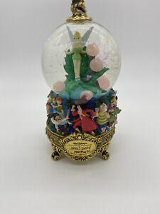 1951 Walt Disney Master Of Animation Marc Davis Peter Pan Tinkerbell Snow Globe