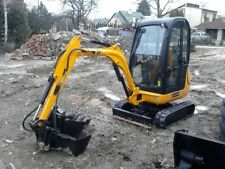 Mini Digger& Driver -Hire Only-Not For Sale