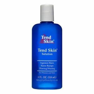 Tend Skin solution for Ingrowing Hair, Razor bumps shaving/waxing (118ml) 4oz