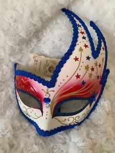 New Italy Woman's Venetian Mask Italian Wall Hanging Art Masquerade