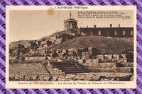 CPA 63 - Sommet du puy de dome - les ruines du temple de mercure