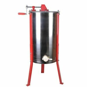 3 Frame Manual Honey Extractor Beekeeping Hive Spinner - Pickup Available.