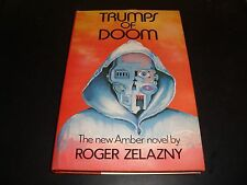 Trumps of Doom by Roger Zelazny 1985 Hardcover Book Club Edition Near Mint