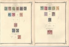 Jamaica Collection 1860-1949 on 13 Scott Specialty Pages